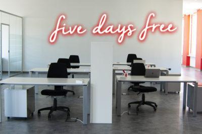 Coworking gratis a Torino