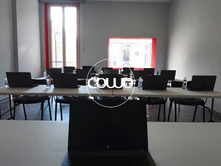 Aula Informatica allo spazio Torino Coworking Center