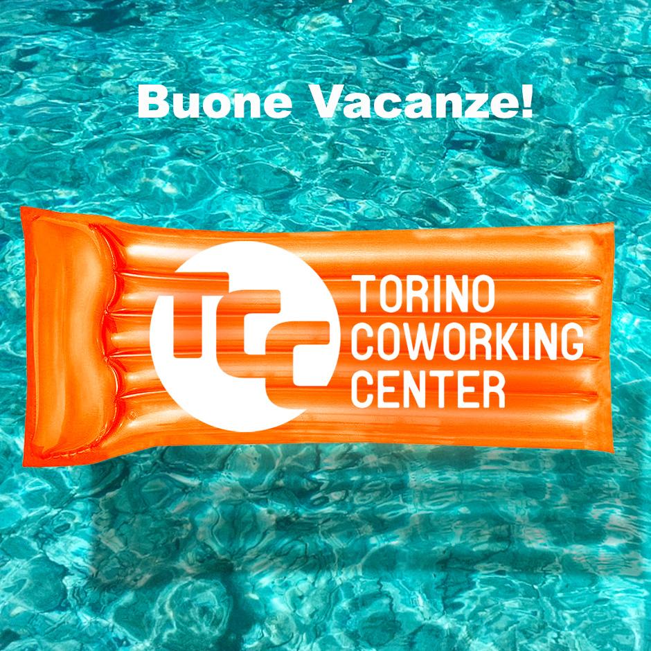 Buone vacanze da Torino Coworking Center!