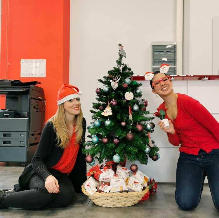 Ilaria e Chiara del Torino Coworking Center